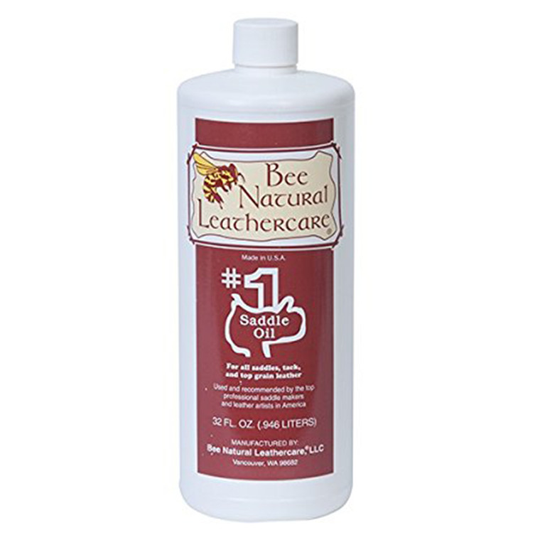 BEE NATURAL #1 SADDLE OIL - 32oz
