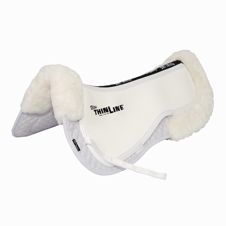 THINLINE TRIFECTA SHIMABLE HALF PAD WITH SHEEPSKIN ROLLS