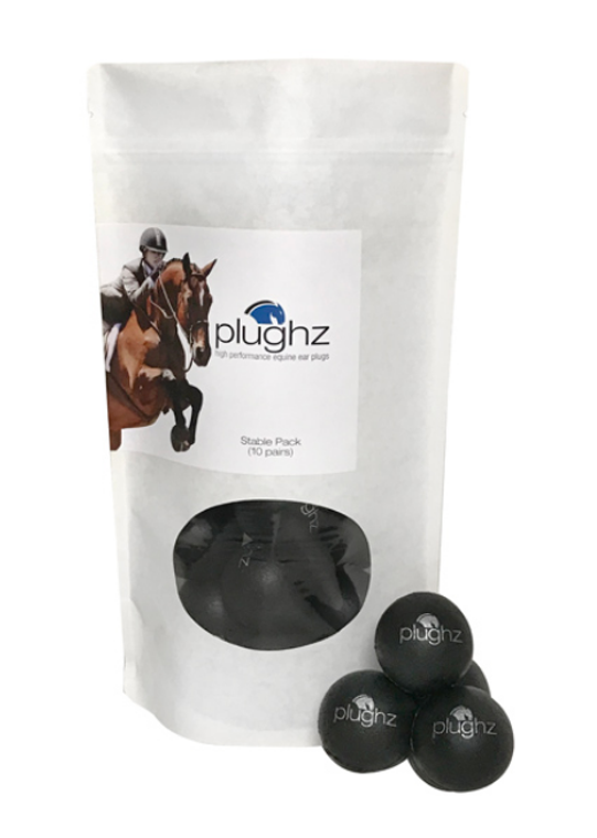 PLUGHZ HIGH PERFORMANCE EQUINE EAR PLUG STABLE PACK