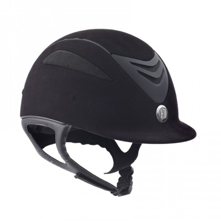 ONE K DEFENDER JR. SUEDE RIDING HELMET