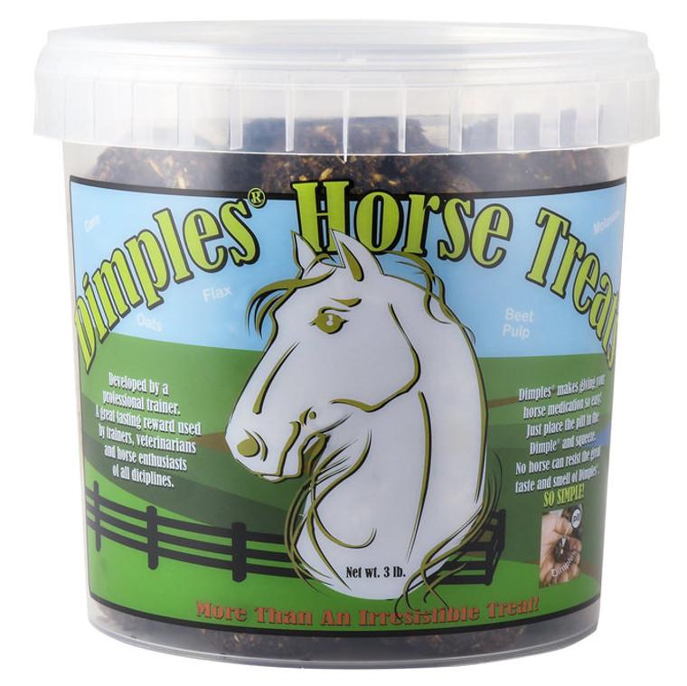 DIMPLES HORSE TREATS - 3 LBS