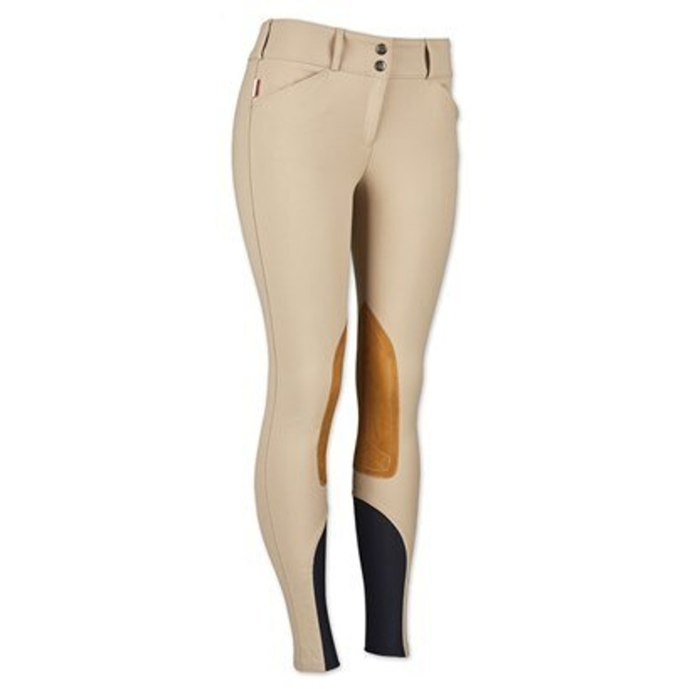 THE TAILORED SPORTSMAN™ SOCK BOTTOM TROPHY HUNTER MID RISE FRONT ZIP BREECH