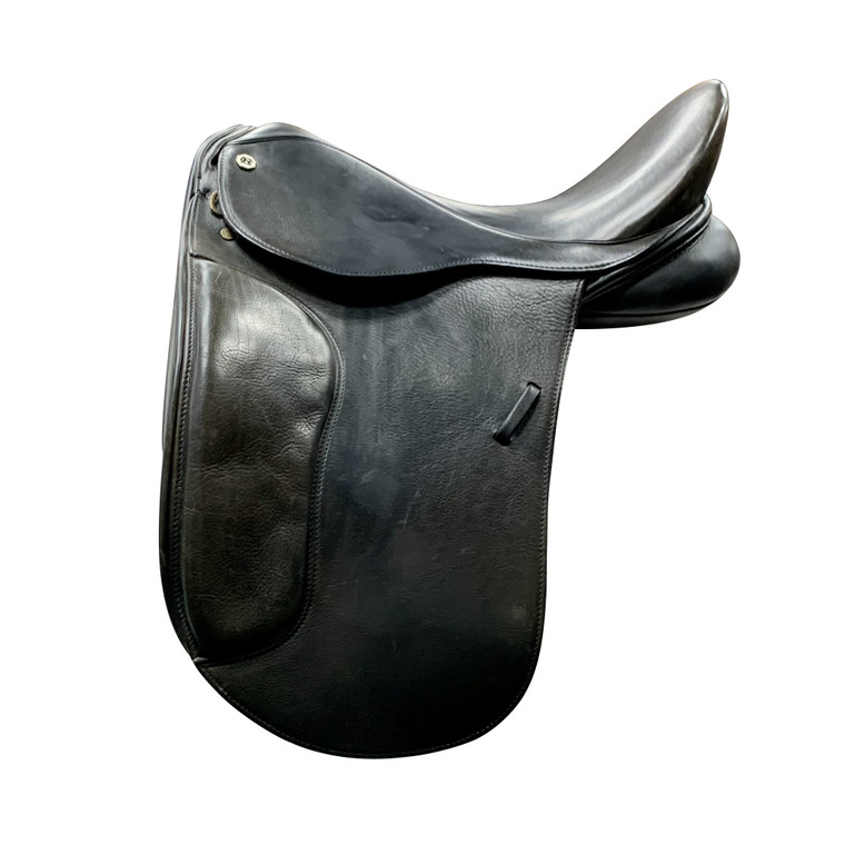 """17.5"""" CLIFF BARNSBY DRESSAGE SADDLE - D21965"""