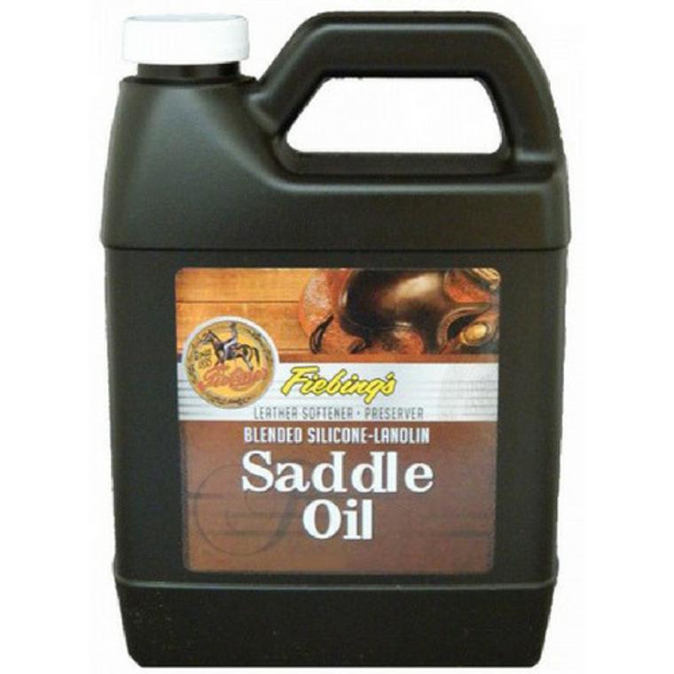 FIEBING'S SILICONE-LANOLIN SADDLE OIL 32 OZ