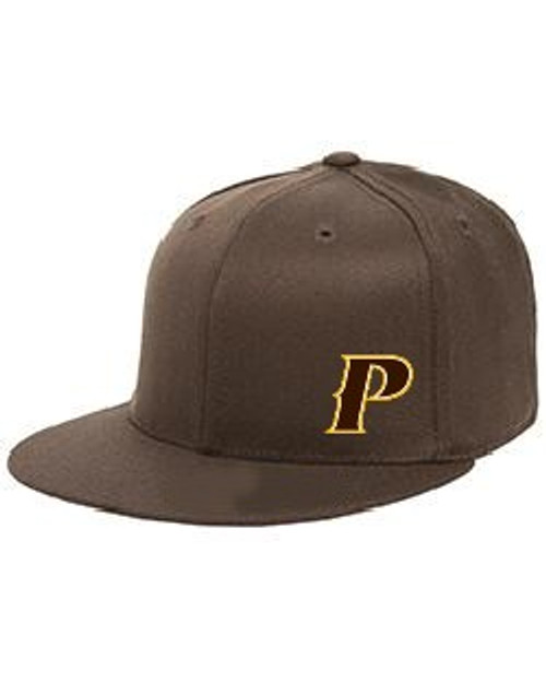 "Youth Flex-Fit Flatbill Cap - ""P"""