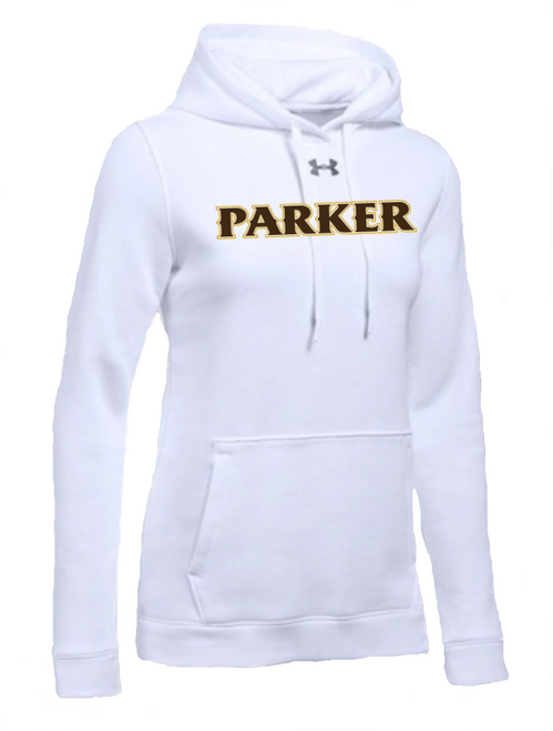 "Ladies Hustle Fleece Hoody - ""PARKER"" [colors: carbon, steel, white]"