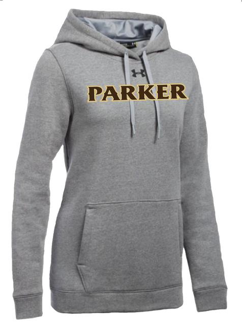 "Ladies Hustle Fleece Hoody - ""PARKER"" [colors: carbon, heather, white]"