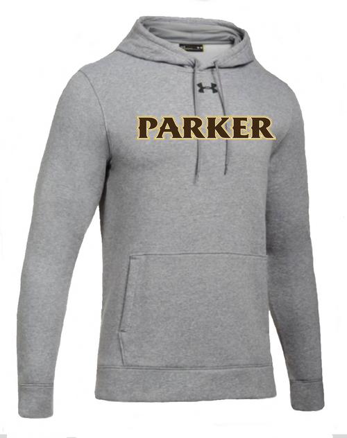 "Men's Hustle Fleece Hoody - ""PARKER"" [colors: carbon,  heather)"