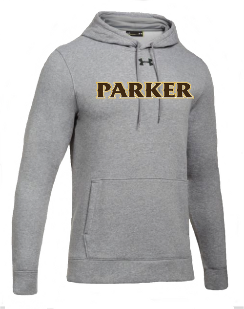 "Men's Hustle Fleece Hoody - ""PARKER"" [colors: carbon,  heather)"