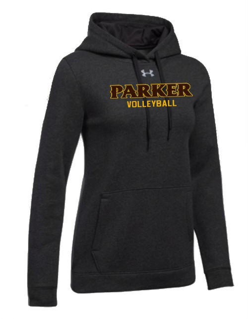 "Ladies Hustle Fleece Hoody - ""PARKER VOLLEYBALL"""