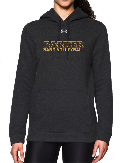 "Ladies Hustle Fleece Hoody - ""PARKER SAND VOLLEYBALL"""