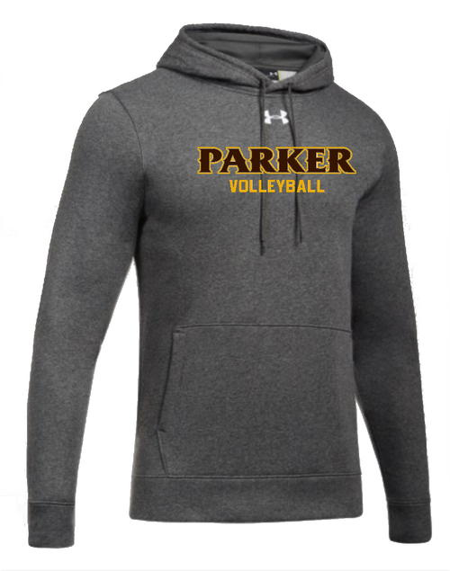 "Men's Hustle Fleece Hoody - ""PARKER VOLLEYBALL"""