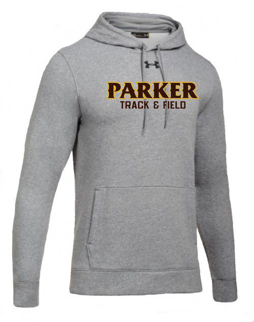"Men's Hustle Fleece Hoody - ""PARKER TRACK & FIELD"""