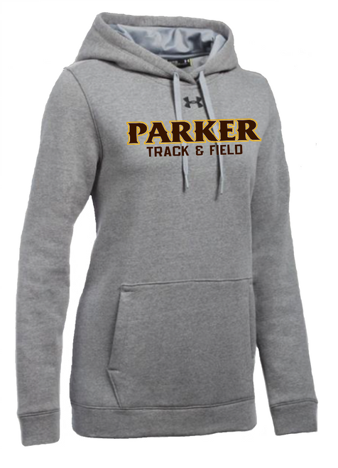 "Ladies Hustle Fleece Hoody - ""PARKER TRACK & FIELD"""