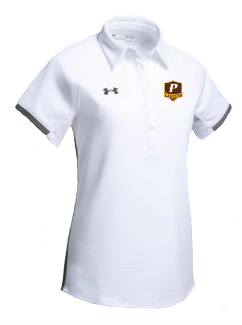 "Ladies Rival Polo - ""P"" or ""SHIELD"" [colors: white, gray, brown]"