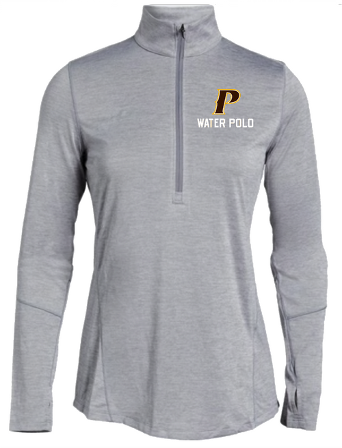 "Ladies Novelty 1/2 ZIp - ""P WATER POLO"""