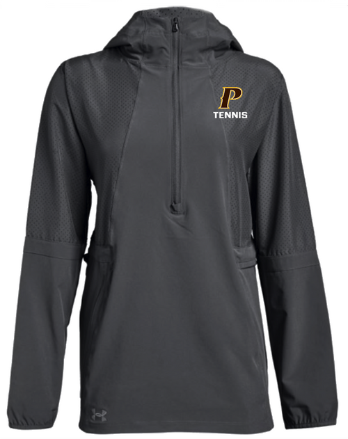 "Ladies Squad Woven 1/2 Zip Jacket - ""P-TENNIS"""