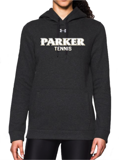 "Ladies Hustle Fleece Hoody - ""PARKER TENNIS"""
