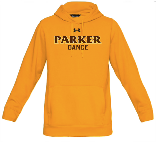 "Men's Hustle Fleece Hoody - ""PARKER DANCE"""