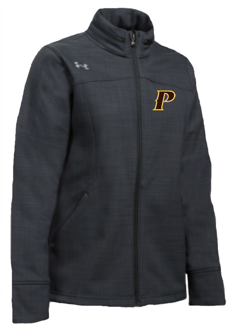 "Ladies Barrage Soft Shell Jacket - ""P"" or ""SHIELD"""