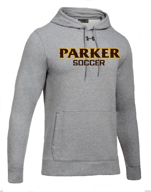 "Men's Hustle Fleece Hoody - ""PARKER SOCCER"""