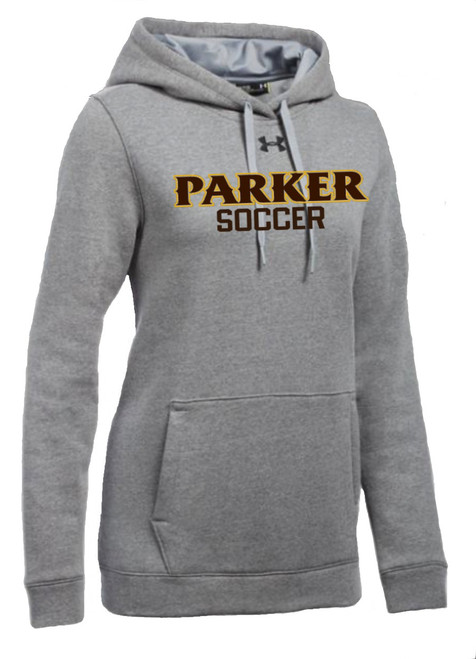 "Ladies Hustle Fleece Hoody - ""PARKER SOCCER"""