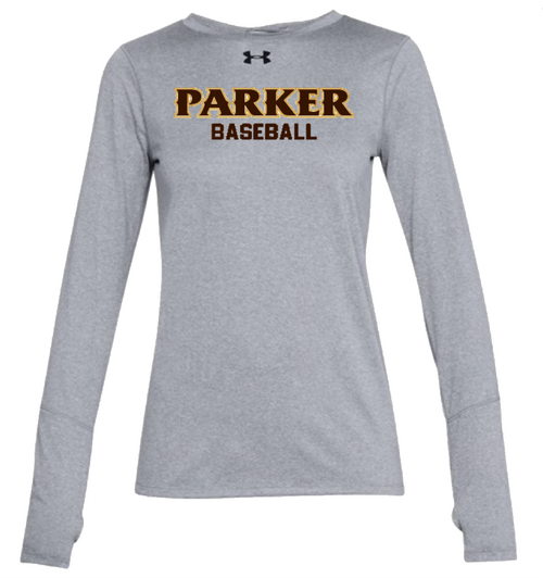 "Ladies LS Locker Tee 2.0 - ""PARKER BASEBALL"""