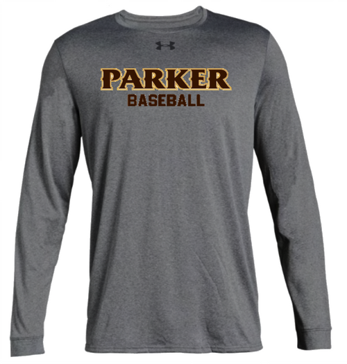 "Men's Long Sleeve Locker Tee 2.0 - ""PARKER BASEBALL"""
