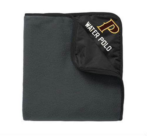 "Fleece & Nylon Travel Blanket - ""P-WATER POLO"""