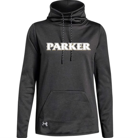 "Ladies Novelty AF Funnel Neck - ""PARKER"" [colors: graphite, light gray]"