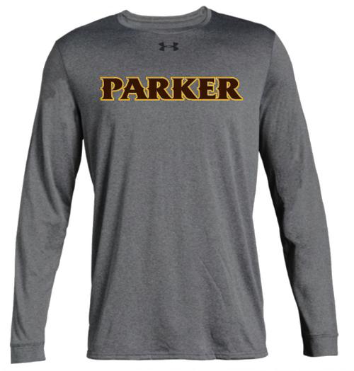 "Men's Long Sleeve Locker Tee 2.0 - ""PARKER"" [colors: white, gray, carbon]"