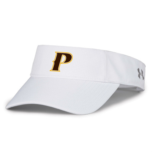 "Adult Airvent Performance Visor - ""P"" or ""SHIELD"" [colors: White, Gray]"