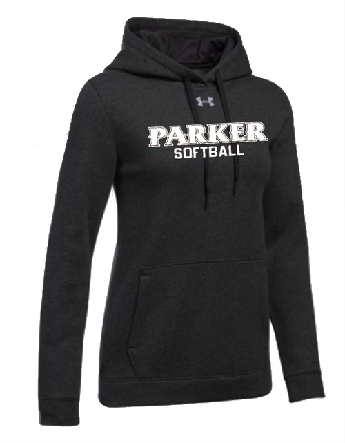 "Ladies Hustle Fleece Hoody - ""PARKER SOFTBALL"""