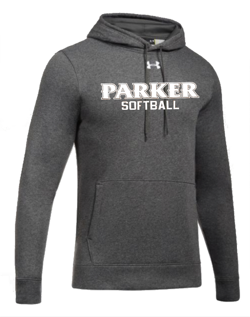 "Men's Hustle Fleece Hoody - ""PARKER SOFTBALL"""