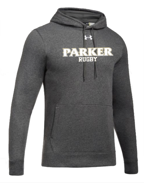 "Men's Hustle Fleece Hoody - ""PARKER RUGBY"""