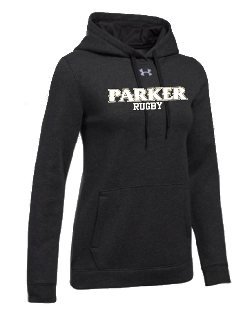 "Ladies Hustle Fleece Hoody - ""PARKER RUGBY"""