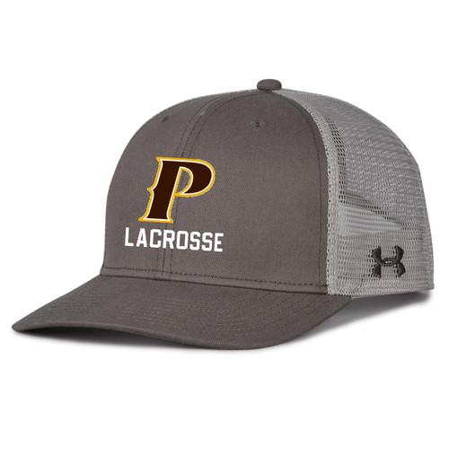 "Adult Trucker Mesh Cap - ""P-LACROSSE"""