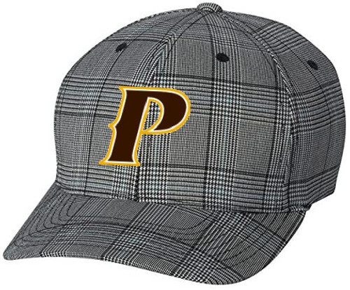 "Flex fit Glenn Check Cap - ""P-brown/white/gold"""