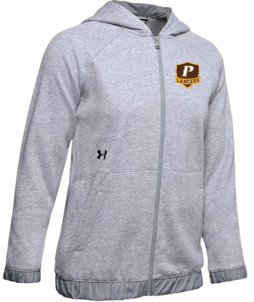 "Ladies Hustle Fleece Full Zip Hoody - ""P"" or ""SHIELD"""