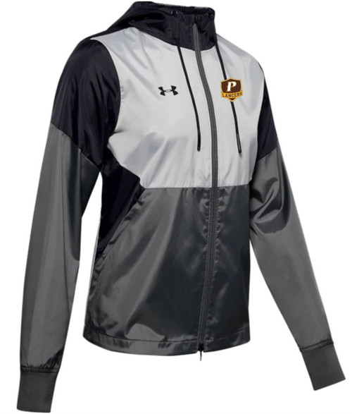 "Ladies Team Legacy Windbreaker- ""P"" or ""SHIELD"""