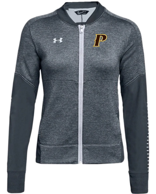 "Ladies Qualifier Hybrid Warmup Jacket - ""P"" or ""SHIELD"""