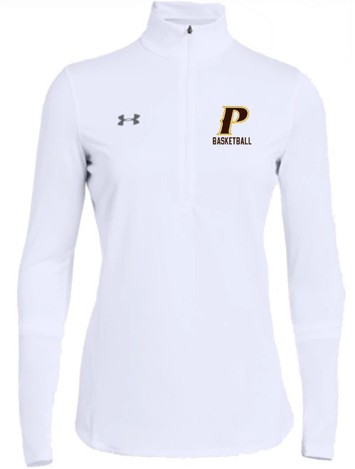 "Ladies Locker 1/2 Zip - ""P - BASKETBALL"""