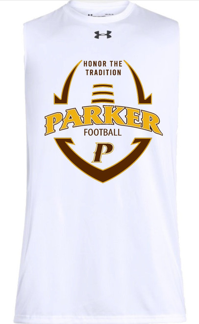 """REQUIRED Football Practice Sleeveless Tee - """"HONOR THE TRADITION"""""""