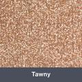 "Iron-on Tawny Glitter 19.75"" x 12"""