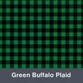 Green and Black Buffalo Plaid