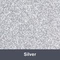 "HTV Silver Glitter (450) 19.75"" x 12"""