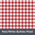 "Red Buffalo Plaid  MATTE Permanent  Vinyl 12""x  12"""