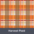 """Harvest Plaid MATTE Permanent  Vinyl 12""""x  12"""""""