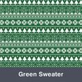 """Green Sweater MATTE Permanent  Vinyl 12""""x  12"""""""