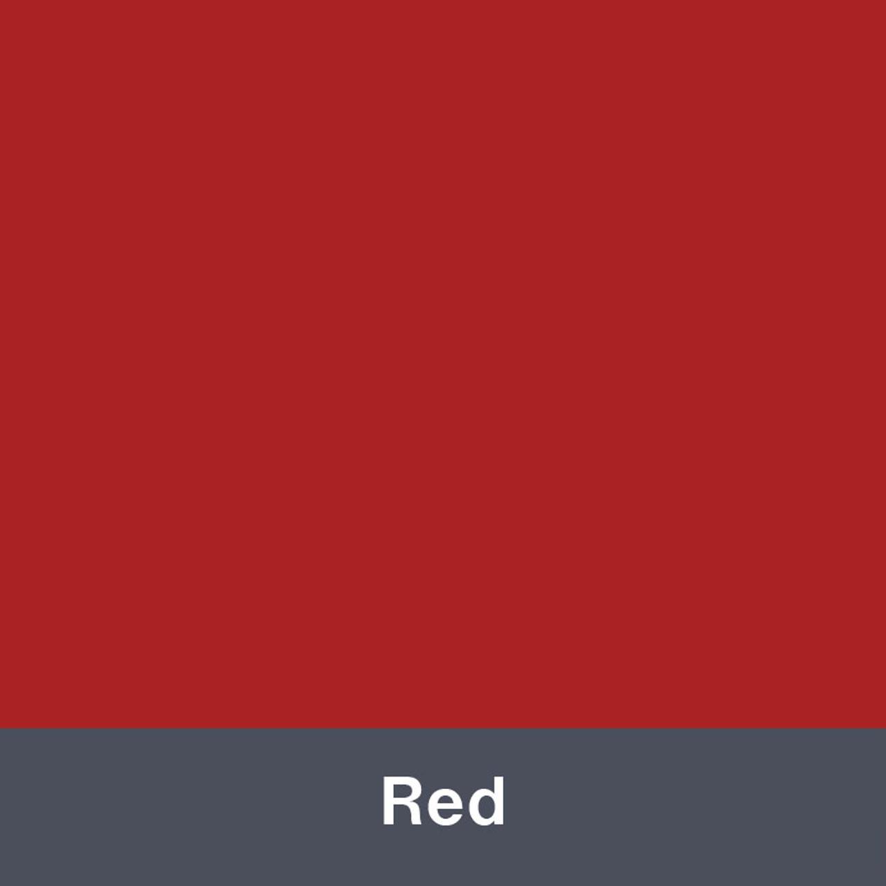 "Red (Matte) 12"" x 24"""